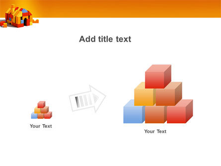 Color Bricks PowerPoint Template Slide 13