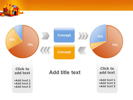 Color Bricks PowerPoint Template Slide 16