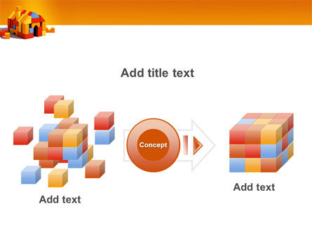 Color Bricks PowerPoint Template Slide 17