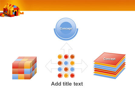 Color Bricks PowerPoint Template Slide 19
