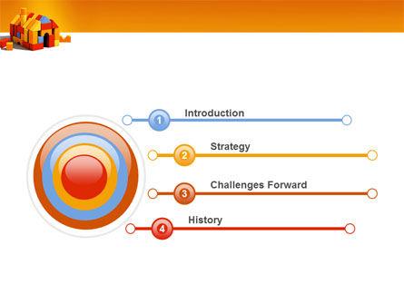 Color Bricks PowerPoint Template, Slide 3, 03056, Construction — PoweredTemplate.com