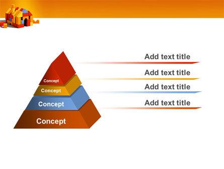 Color Bricks PowerPoint Template, Slide 4, 03056, Construction — PoweredTemplate.com