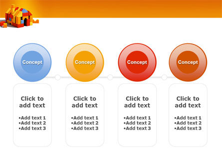Color Bricks PowerPoint Template Slide 5