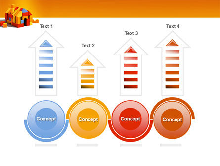 Color Bricks PowerPoint Template Slide 7