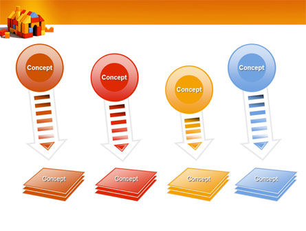 Color Bricks PowerPoint Template Slide 8