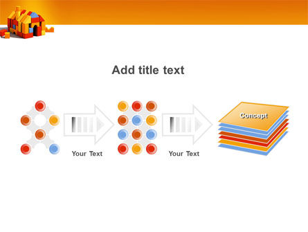 Color Bricks PowerPoint Template Slide 9