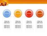 Color Bricks PowerPoint Template#5