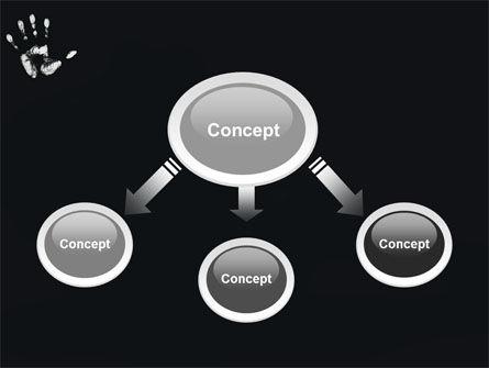 Hand Print PowerPoint Template, Slide 4, 03057, Religious/Spiritual — PoweredTemplate.com