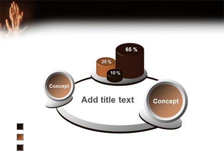 Hands Up PowerPoint Template Slide 16