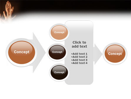 Hands Up PowerPoint Template Slide 17