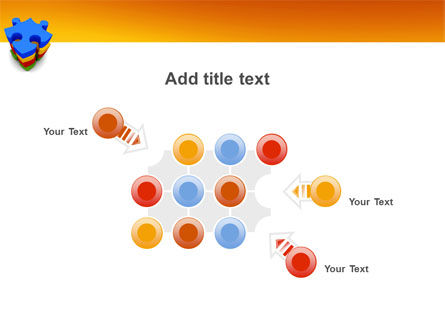 Puzzle Complete PowerPoint Template Slide 10