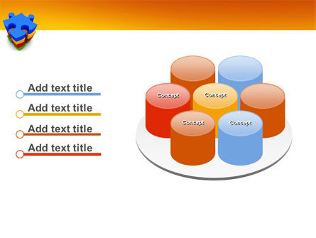 Puzzle Complete PowerPoint Template Slide 12