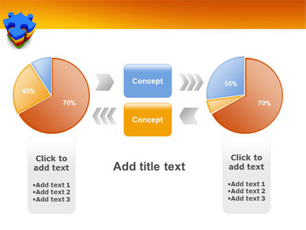 Puzzle Complete PowerPoint Template Slide 16