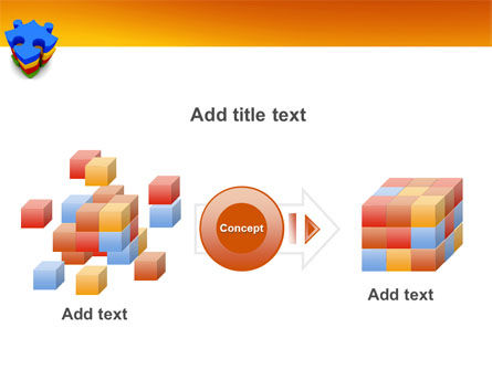Puzzle Complete PowerPoint Template Slide 17