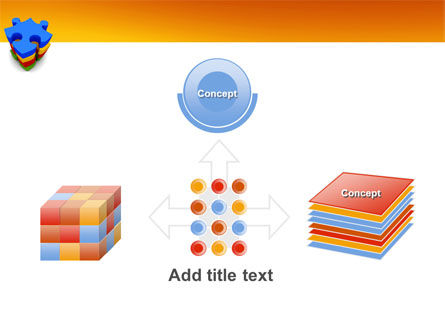 Puzzle Complete PowerPoint Template Slide 19