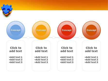 Puzzle Complete PowerPoint Template Slide 5