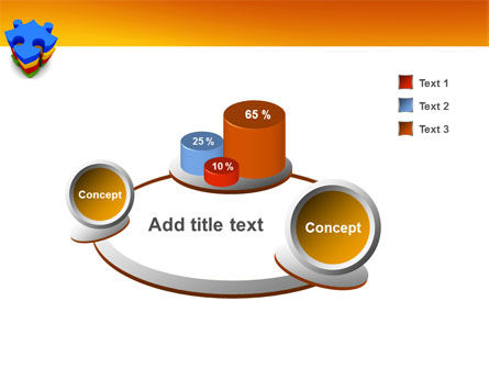 Puzzle Complete PowerPoint Template Slide 6