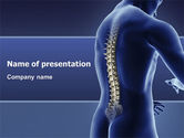 Medical: Spine PowerPoint Template #03062