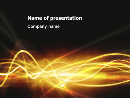 Abstract/Textures: Light PowerPoint Template #03064