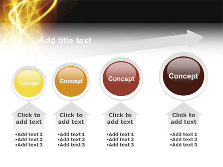 Light PowerPoint Template Slide 13