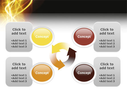 Light PowerPoint Template Slide 9