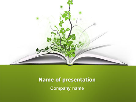 Education & Training: Knowledge PowerPoint Template #03072
