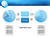 Blue Yin Yang PowerPoint Template#11