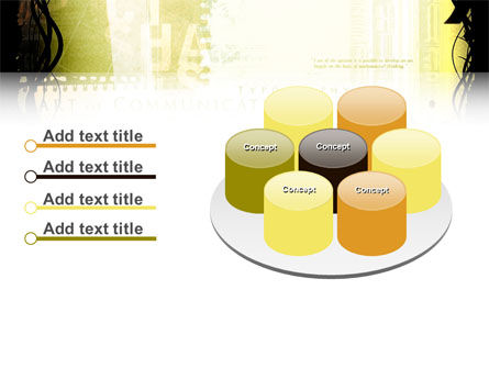 Typography PowerPoint Template Slide 12