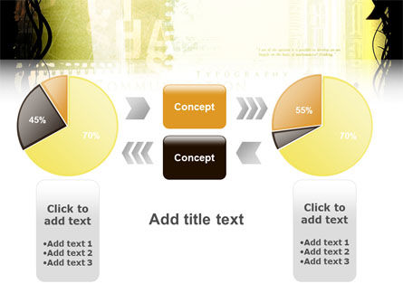 Typography PowerPoint Template Slide 16