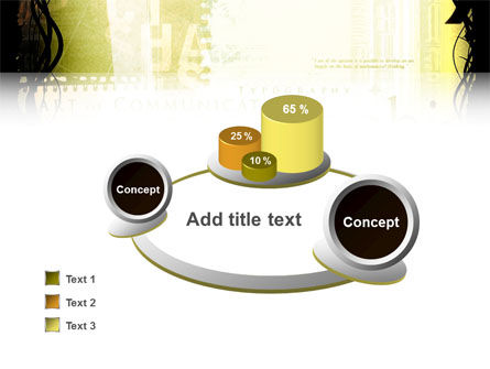 Typography PowerPoint Template Slide 6
