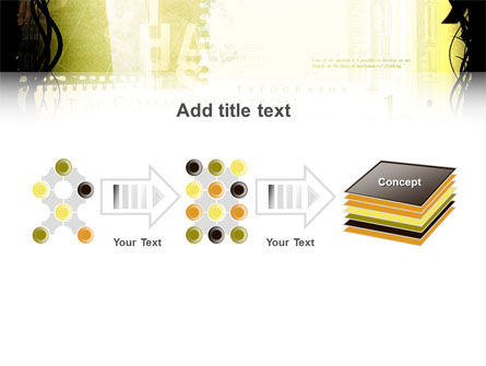 Typography PowerPoint Template Slide 9