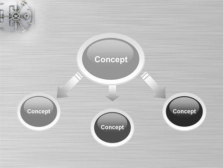 Bank Safe PowerPoint Template Slide 4
