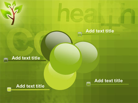 Green Health PowerPoint Template Slide 10