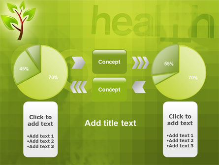 Green Health PowerPoint Template Slide 11