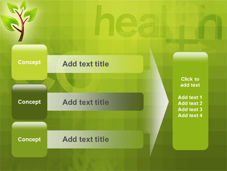 Green Health PowerPoint Template Slide 12