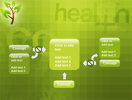 Green Health PowerPoint Template Slide 13