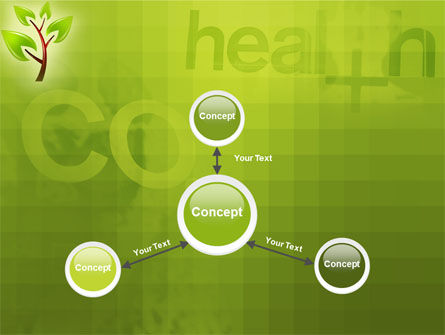 Green Health PowerPoint Template Slide 14