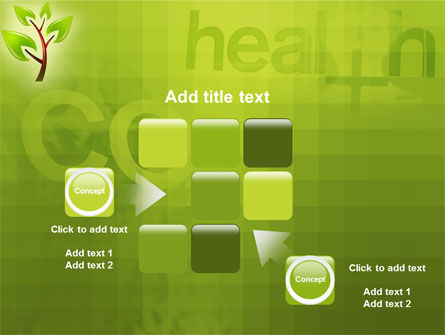 Green Health PowerPoint Template Slide 16