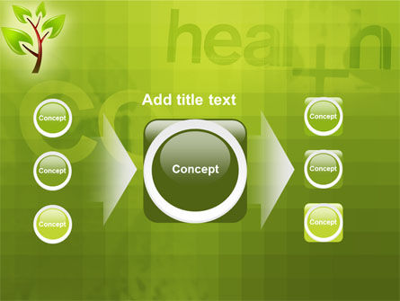 Green Health PowerPoint Template Slide 17