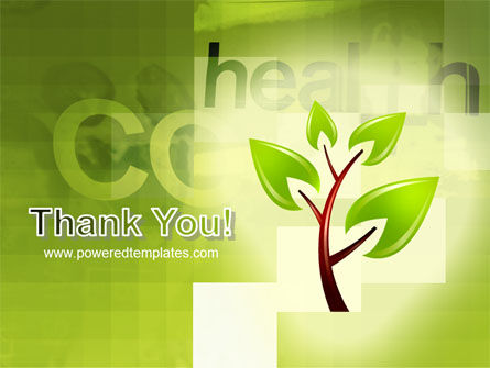 Green Health PowerPoint Template Slide 20