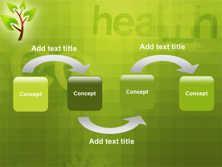 Green Health PowerPoint Template Slide 4