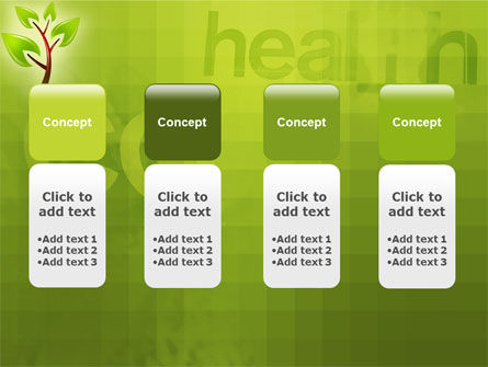 Green Health PowerPoint Template Slide 5