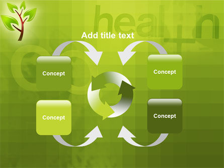 Green Health PowerPoint Template Slide 6