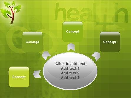 Green Health PowerPoint Template Slide 7