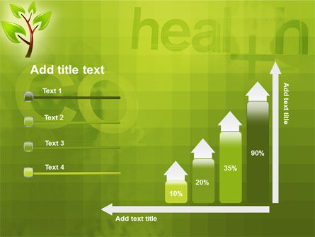 Green Health PowerPoint Template Slide 8