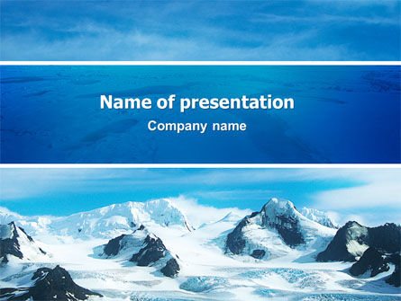 Nature & Environment: Alaska PowerPoint Vorlage #03084