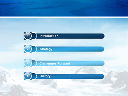 Alaska PowerPoint Template, Slide 3, 03084, Nature & Environment — PoweredTemplate.com