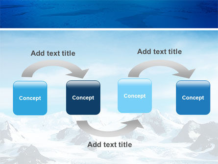 Alaska PowerPoint Template, Slide 4, 03084, Nature & Environment — PoweredTemplate.com