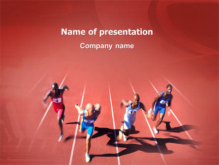 Sports: Competition PowerPoint Template #03086