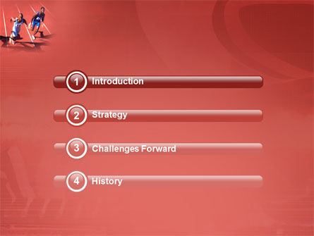 Competition PowerPoint Template, Slide 3, 03086, Sports — PoweredTemplate.com